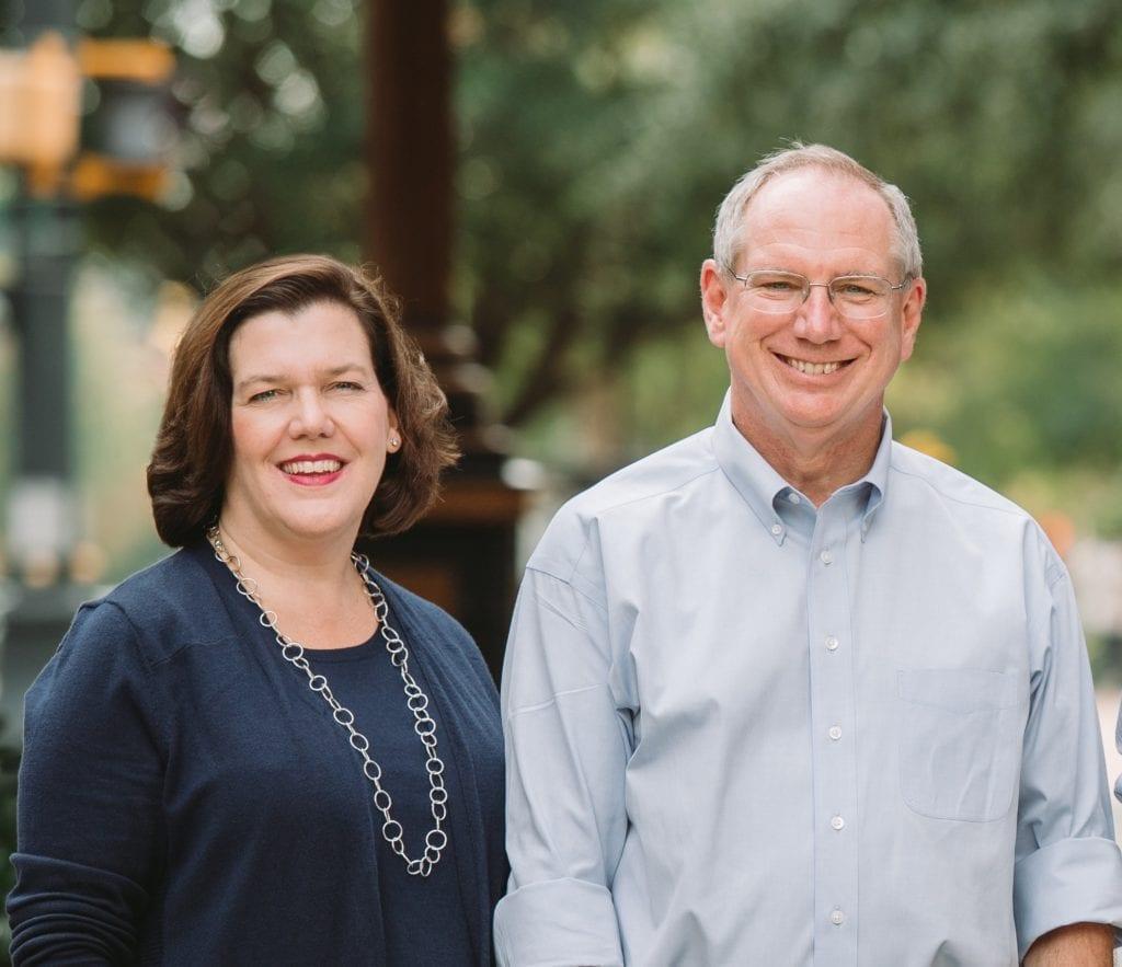 SDG Principals Mark Williams and Jeannette Goldsmith